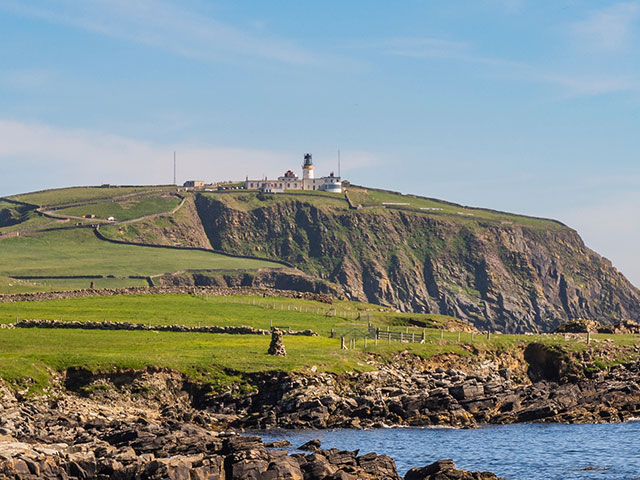 Sumburgh Head Lighthouse, Maunland Shetland