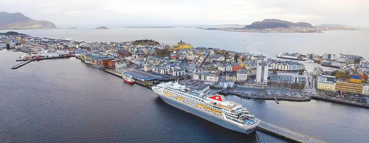 Balmoral in Alesund, Norway