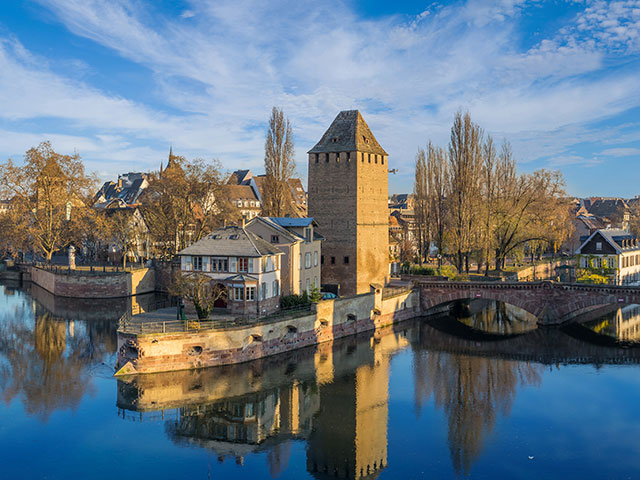 Pont converts in Petite France, Strasbourg