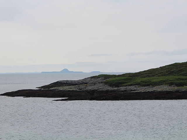 View of Dutchmans cap in Scotland