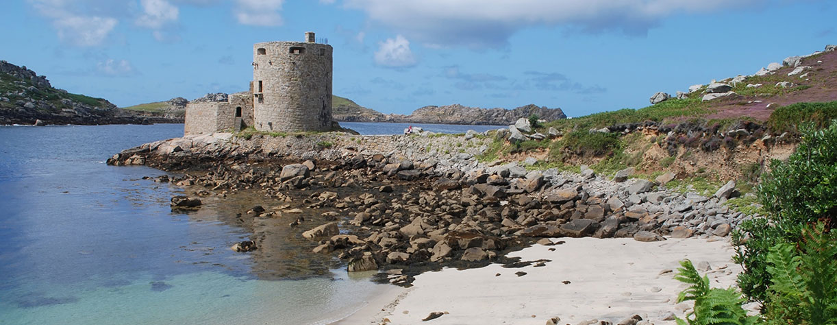 Cromwells castle, Isel of Scilly