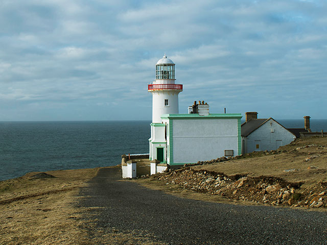Lighthouse in Arranmore, Ireland