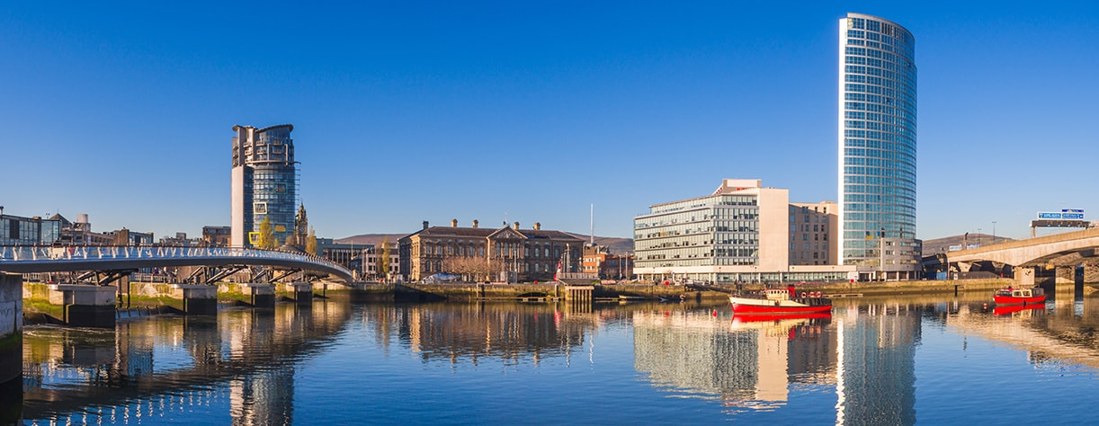 River Lagan, Belfast City