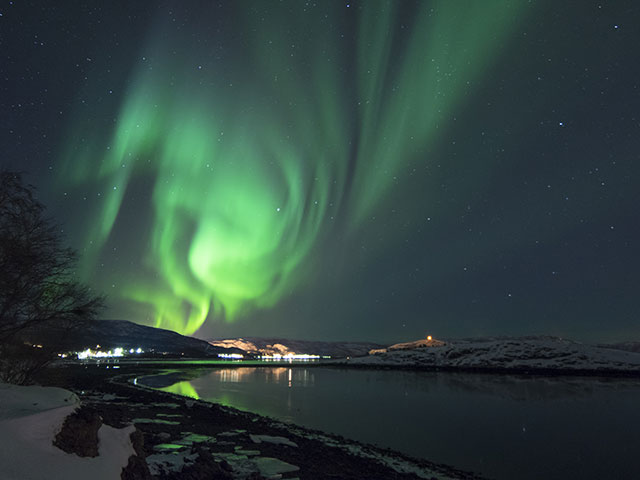 Northern lights in Alta, Norway