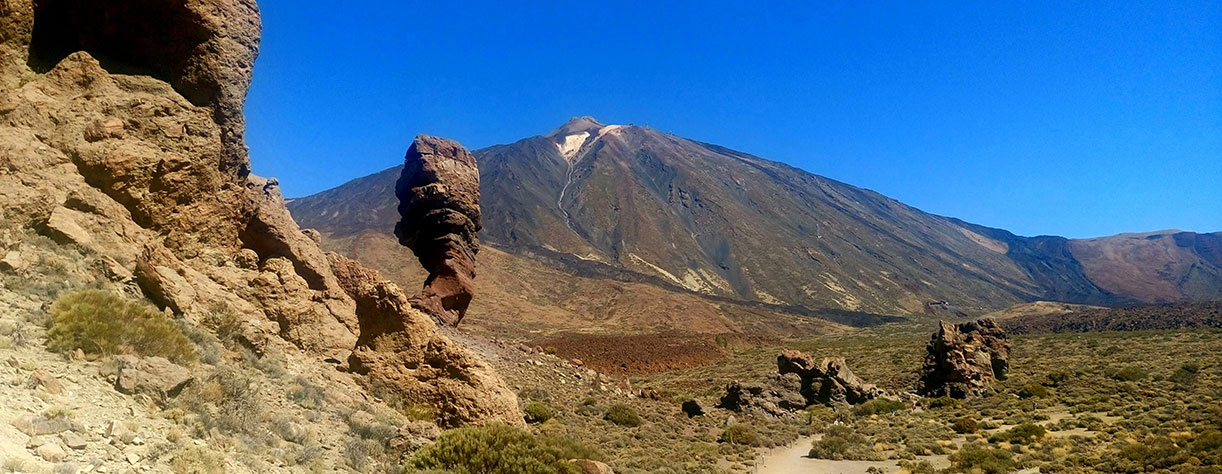 Mount Teide and National park at Tenerife, Canary Islands, Spain