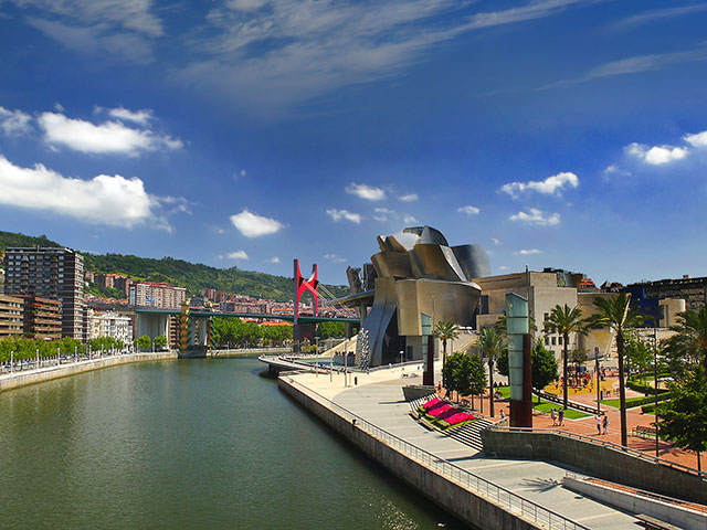Bilbao embankment, Spain