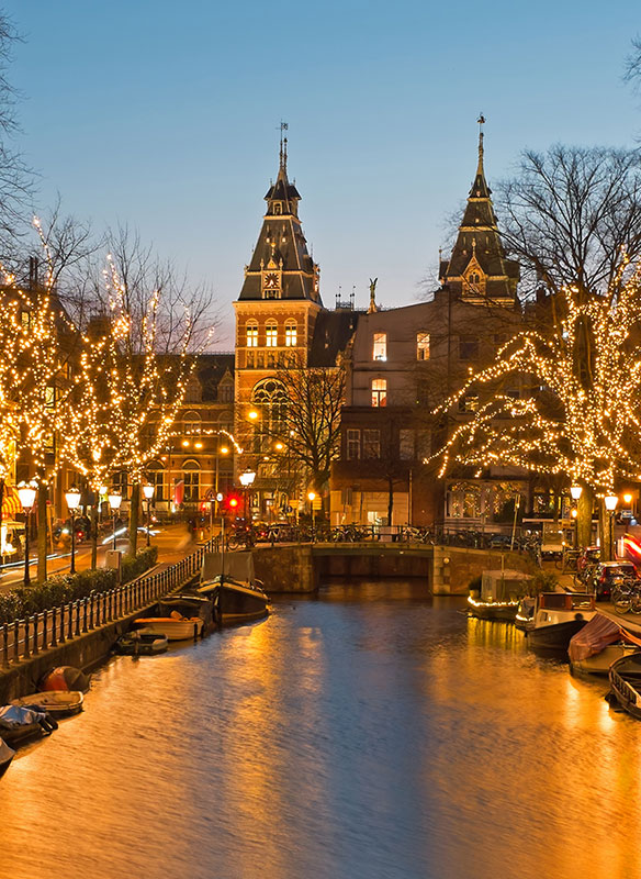 Image of Belgium & the Netherlands at Christmas
