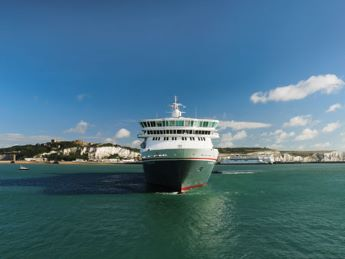 Balmoral departing from Dover